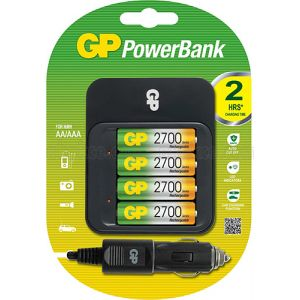 GB Powerbank Batterijlader