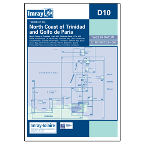 Imray D10 North Coast Trinidad